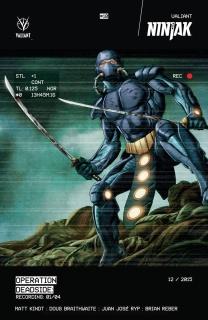 Ninjak #10 (Braithwaite Cover)