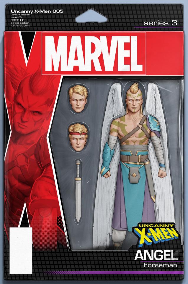 Uncanny X-Men #5 (Christopher Action Figure Cover)