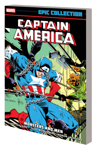 Captain America: Monsters and Men (Epic Collection)