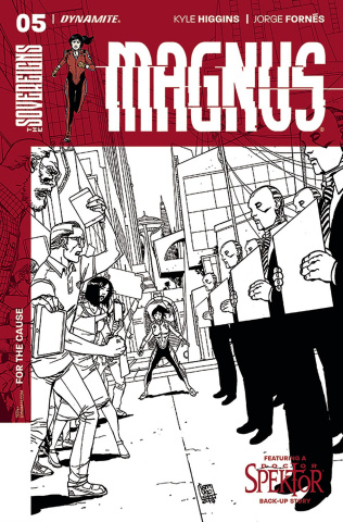 Magnus #5 (10 Copy Camuncoli B&W Cover)