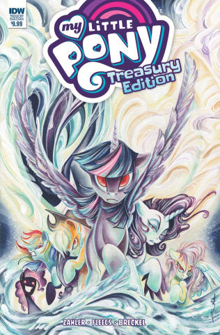 My Little Pony: The Ponies of Darkwater Treasury Edition (Price Cover)