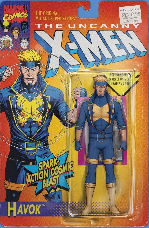 X-Men Legends #6 (Christopher Action Figure Cover)