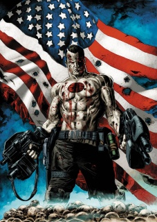 Bloodshot U.S.A. #1 (Braithwaite Cover)