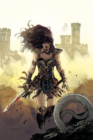 Xena #5 (10 Copy Davila Virgin Cover)