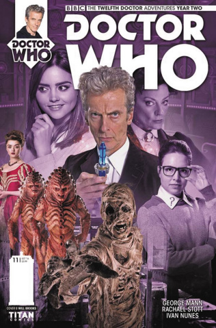 Doctor Who: New Adventures with the Twelfth Doctor, Year Two #11 (Photo Cover)