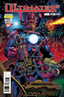 The Ultimates 2 #100 (Kirby 100th Birthday Cover)