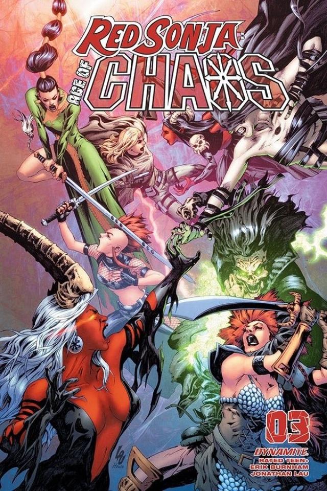 Red Sonja: Age of Chaos #3 (Lau Bonus Cover)