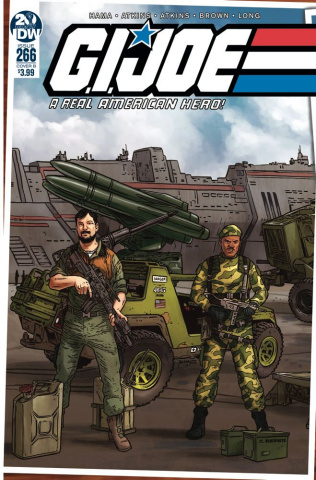 G.I. Joe: A Real American Hero #266 (Sullivan Cover)