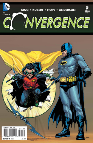 Convergence #5 (Opena Cover)