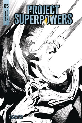 Project Superpowers #5 (20 Copy Segovia B&W Cover)