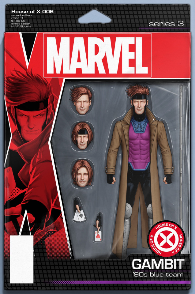 House of X #6 (Christopher Action Figure Cover)