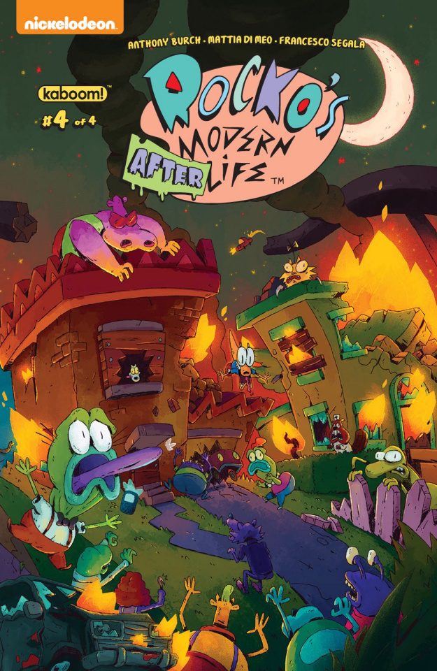 Rocko's Modern Afterlife #4 (McCormick Cover)