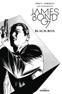 James Bond: Black Box #3 (20 Copy Zircher B&W Cover)