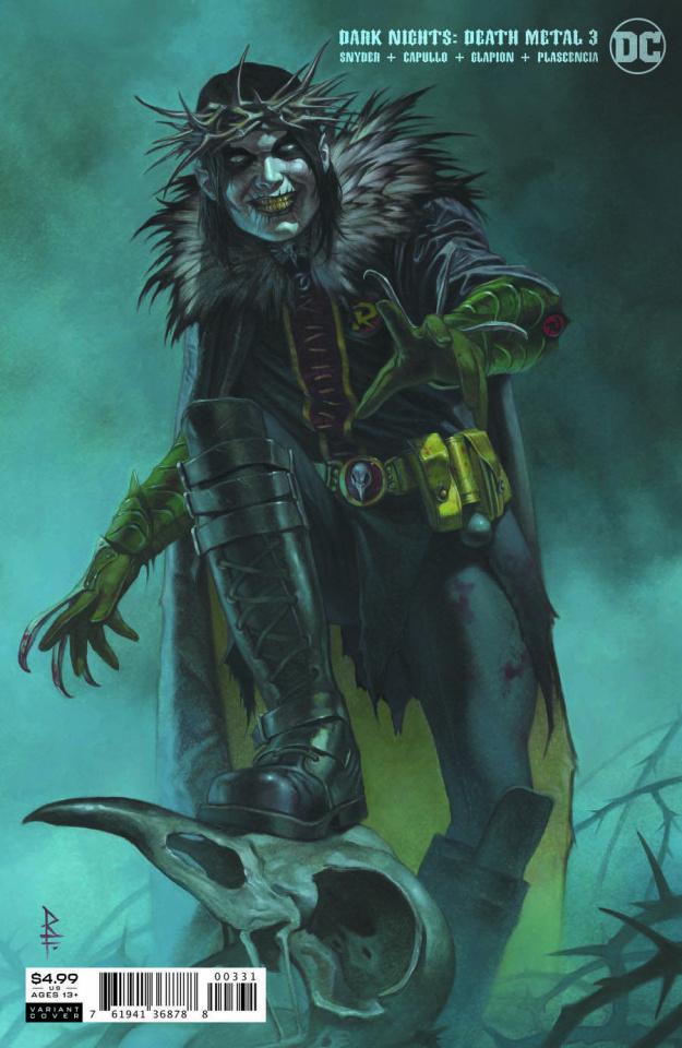 Dark Nights: Death Metal #3 (Riccardo Federici Cover)