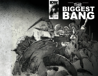 The Biggest Bang #2 (Subscription Cover)