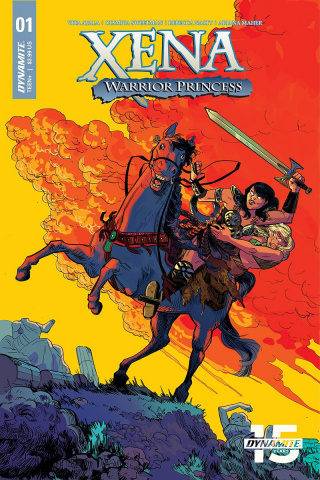 Xena: Warrior Princess #1 (Henderson Cover)