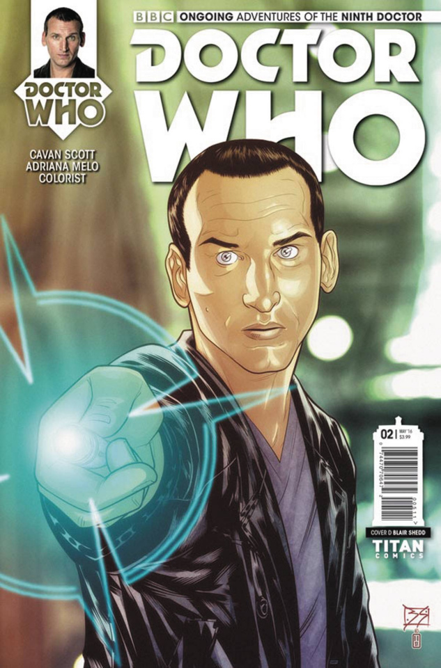 Doctor Who: New Adventures with the Ninth Doctor #2 (Shedd Cover)