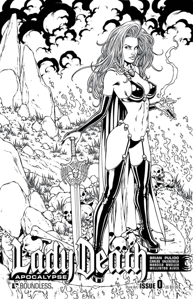 Lady Death: Apocalypse #0 (Pure Art Cover)