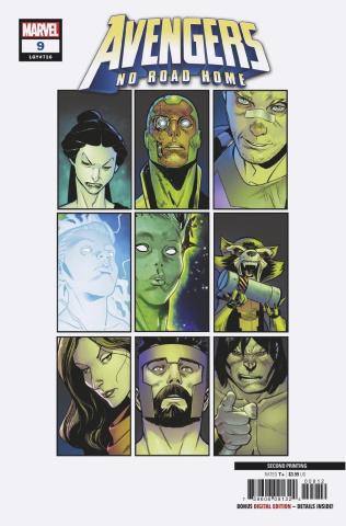Avengers: No Road Home #9 (Medina 2nd Printing)
