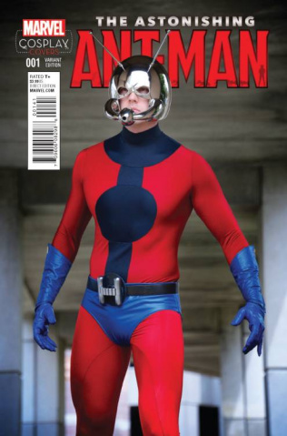 Astonishing Ant-Man #1 (Cosplay Cover)