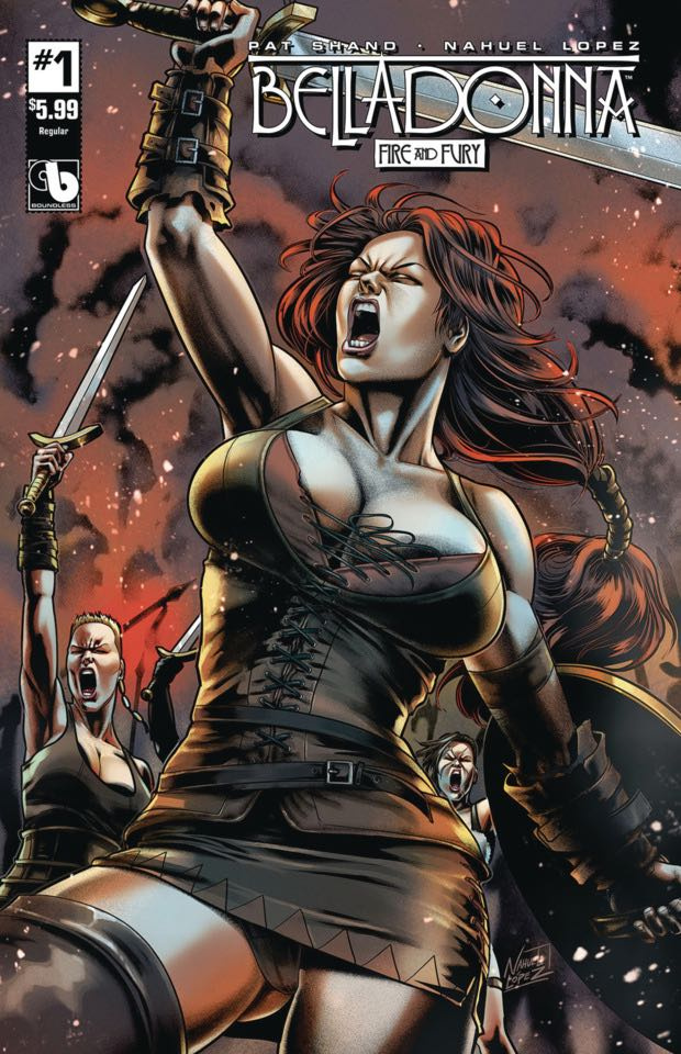 Belladonna: Fire and Fury #12