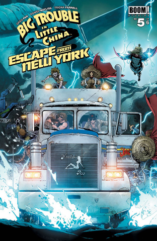 Big Trouble in Little China / Escape from New York #5 (Subscription Camuncoli Cover)
