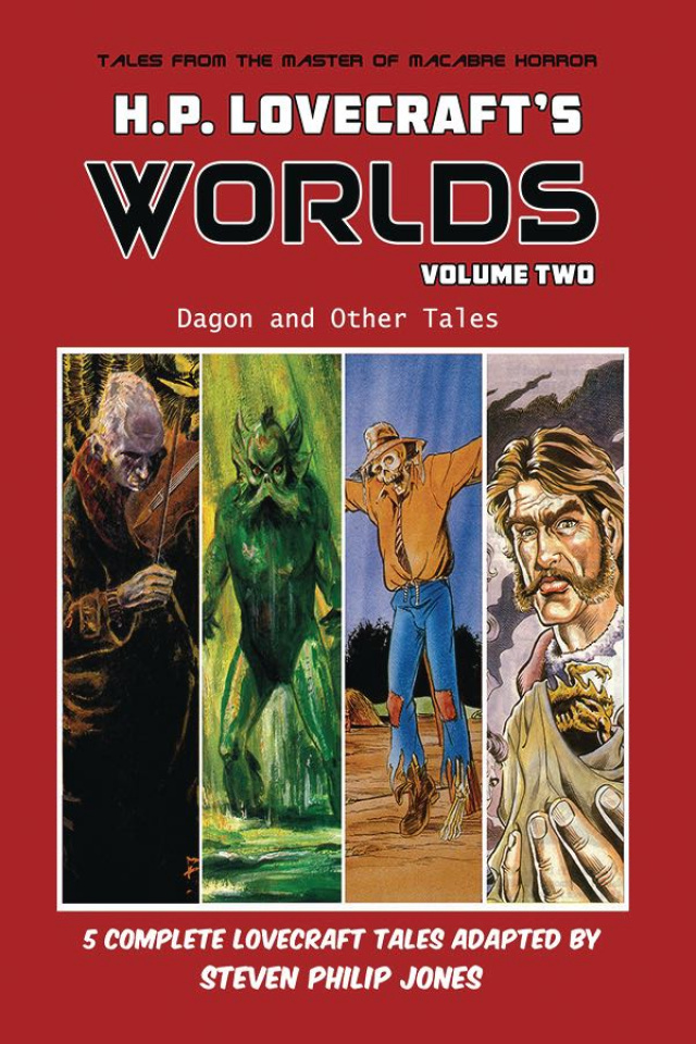 H.P. Lovecraft's Worlds Vol. 2: Dagon and Other Tales