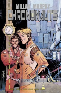 Chrononauts #1 (Murphy & Hollingsworth Cover)