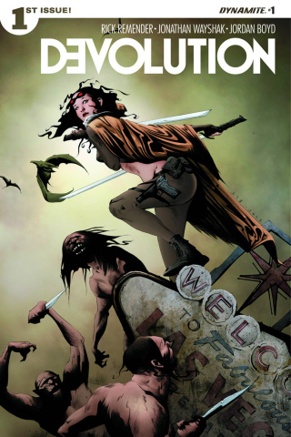 Devolution #1 (Lee Cover)
