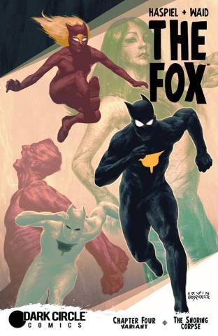 The Fox #4 (Shearer Cover)