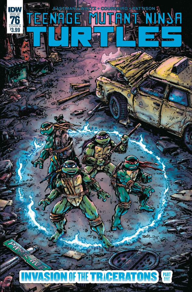 Teenage Mutant Ninja Turtles #76 (Eastman Cover)