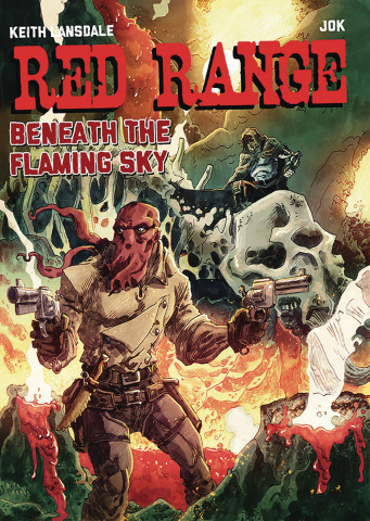Red Range: Beneath the Flaming Sky #1 (Jok Cover)