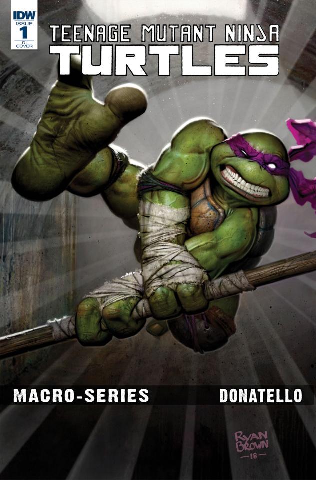 Teenage Mutant Ninja Turtles Macro-Series #1: Donatello (10 Copy Revel Cover)