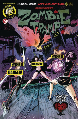 Zombie Tramp #50 (Celor Risque Cover)