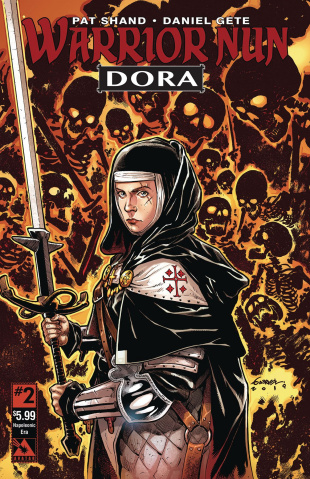 Warrior Nun: Dora #2 (Napoleonic Era Cover)