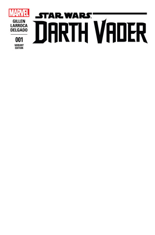 Darth Vader #1 (Blank Cover)
