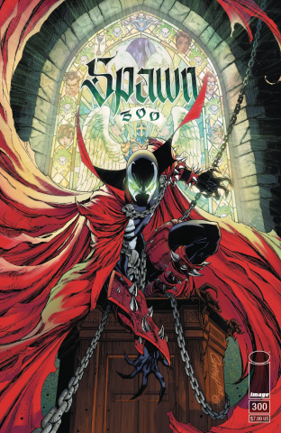 Spawn #300 (Campbell Cover)