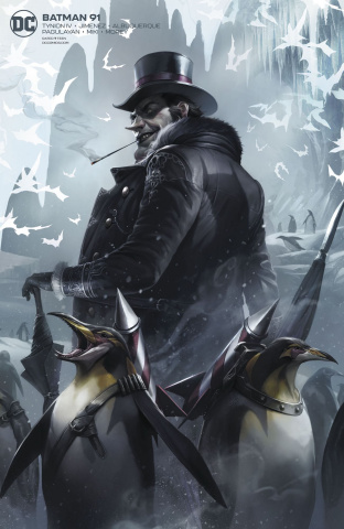 Batman #91 (Card Stock Francesco Mattina Cover)