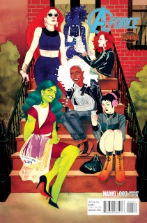 A-Force #3 (Wada Cover)