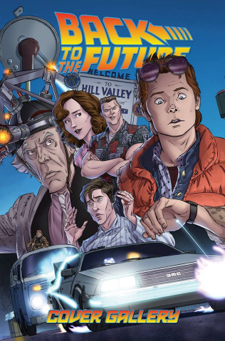 Back to the Future Cover Gallery