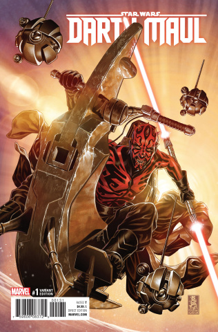 Darth Maul #1 (Brooks Cover)