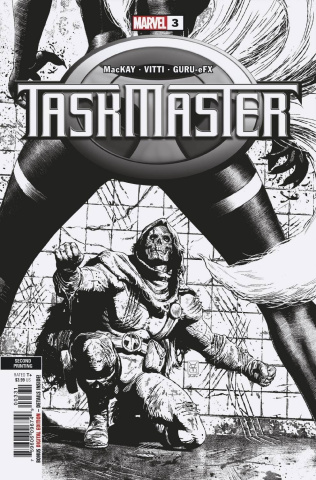 Taskmaster #3 (Giangiordano Sketch 2nd Printing)