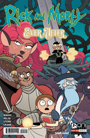 Rick and Morty: Ever After #4 (Stern Cover)