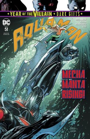 Aquaman #51 (Dark Gifts Cover)