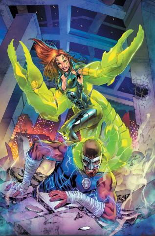 Grimm: Hercules Payne vs. The Scorpion Queen #1 (Vitorino Cover)