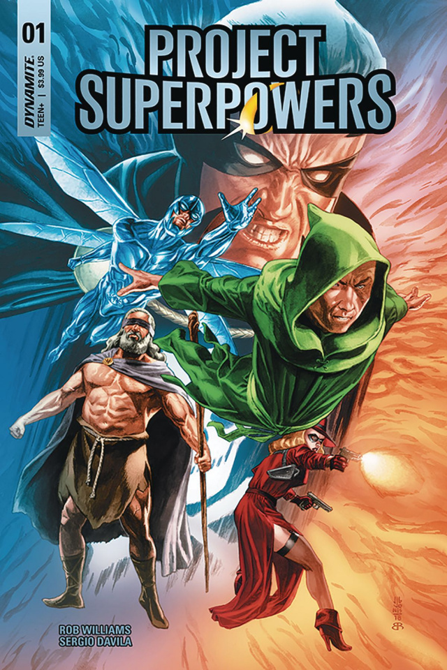 Project Superpowers #1 (Jones Cover)