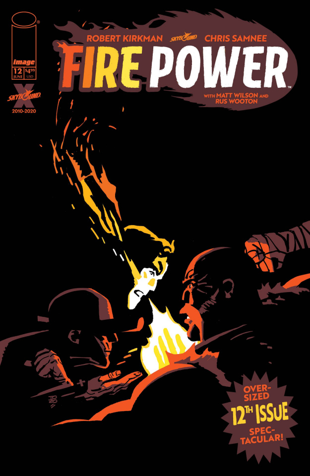 Fire Power #12 (Zonjic Cover)