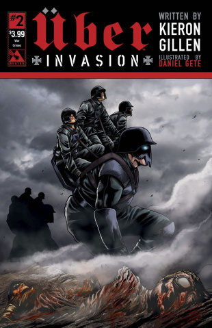 Über: Invasion #2 (War Crimes Cover)