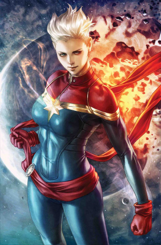 The Life of Captain Marvel #1 (Artgerm Virgin Cover)