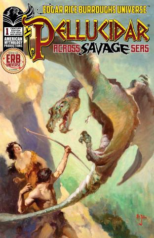 Pellucidar: Across Savage Seas #1 (Century Cover)